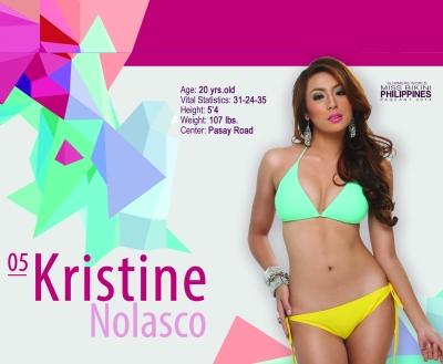 5. Kristine Nolasco
