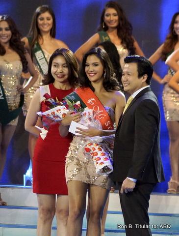 Jamie Herrel representing Cebu wins Miss Solaire