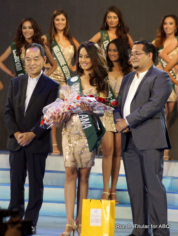 Janelle Ty of Davao wins Miss Hana in MPE 2014