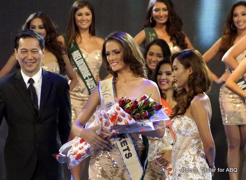 Kim Covert representing Dumaguete wins Miss SM Markets