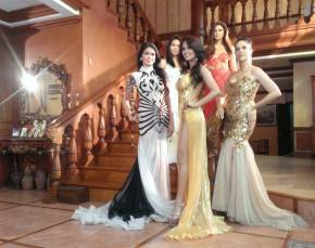 The Mentors Queens of Pinay Beauty Queen Academy - Clockwise from the top - Lara Quigaman, Joyce Ann Burton, Ali Forbes, Evangeline Pascual and Maribel Lopez