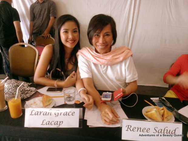 Larah Lacap with Mama Renee Salud