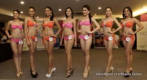 The 7 'semi-official' Metro Manila candidates are L-R Cristine Racel, Analita Vizcarra, Yesly Cabanos, Rosette K. Pablo, Sheryl Chen, Nikka dela Cruz and Glennifer Perido