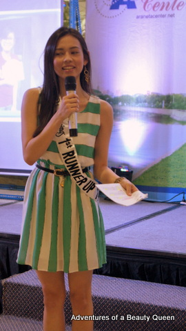 Bb. Pilipinas 2014 1st Runner up Laura Lehman is such a funny girl!