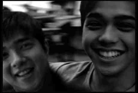 Elmo Magalona (right) with his Dad, the master rapper, FrancisM when he still walked this earth...
