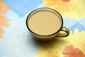 A cup of Sweet Potato Latte...