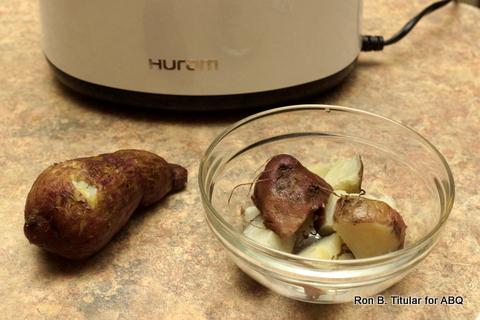 Boiled Sweet Potato or Kamote