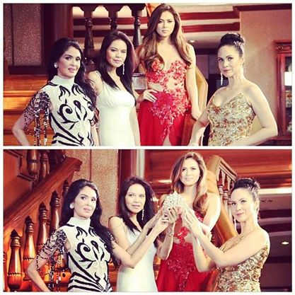 Watch out for Pinoy Beauty Queen Academy with Evangeline Pascual, Maribel Lopez, Lara Quigaman and moi!