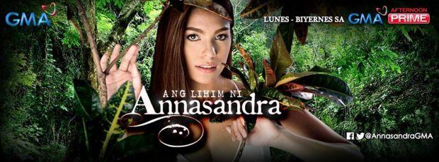 "Andrea Torres stars as Annasandra in ""Ang Lihim ni Annasandra"""