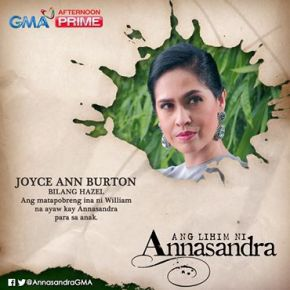 Joyce Ann Burton as Hazel Benitez in #AngLihimNiAnnasandra on GMA7 Afternoon Prime