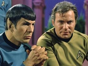 Logic vs Emotion... Spock vs. Kirk