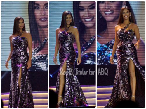 Pia Wurtzbach, long gown competition, Bb. Pilipinas Universe 2015