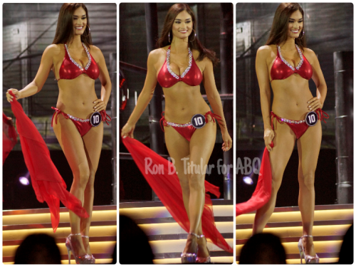Pia Wurtzbach, swimsuit competition, Bb. Pilipinas 2015