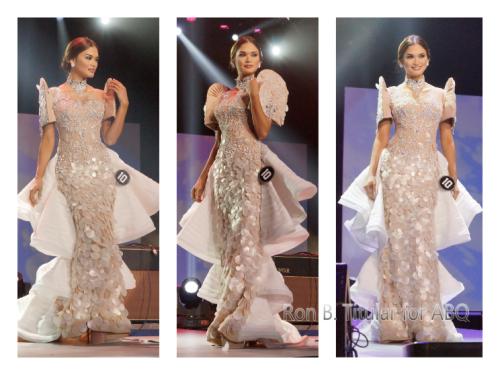 Contestant #10 Pia Wurtzbach in National Costume