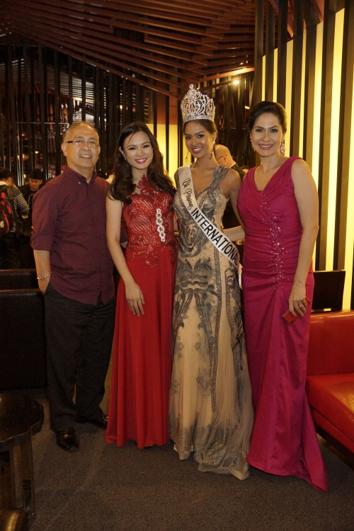 With Janicel Lubina, BB. Pilipinas International 2015!