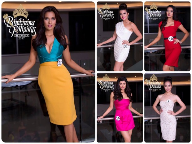 ABQ's Top 5 Best Dressed among the Top 40 at the Announcement of Bb. Pilipinas 2017 official candidates